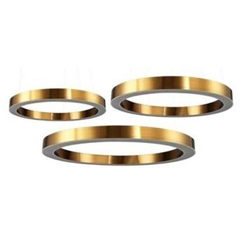 Lampa wisząca CIRCLE 60+80+80 LED mosiądz na 1 podsufitce ST-8848-60+80+80 brass Step Into Design ST-8848-60+80+80 brass