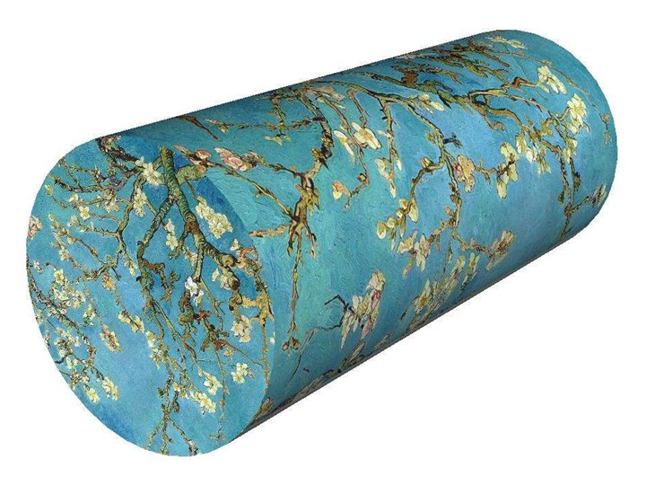 SKP Poduszka Wałek - Almond Ø25x60 cm Poszewka dekoracyjna Poduszka dekoracyjna Kategoria Poduszki i poszewki dekoracyjne