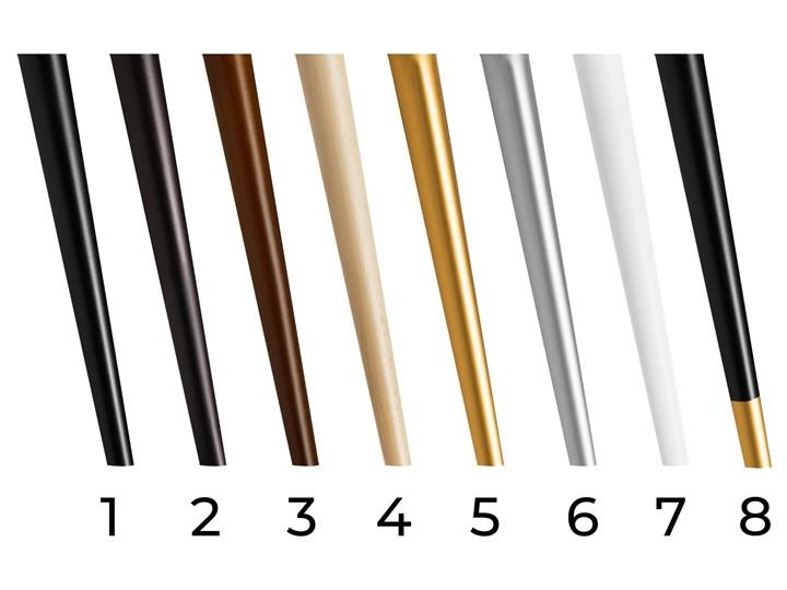 Ławka tapicerowana STYLE Kolor Wielokolorowy Materiał nóżek Drewno