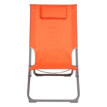 Leżak plażowy Curacao pomarańczowy