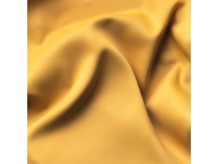 IKEA MAJGULL Zasłony zacieniające, 1 para, Żółty, 145x300 cm Mocowanie Taśma Bawełna Mocowanie