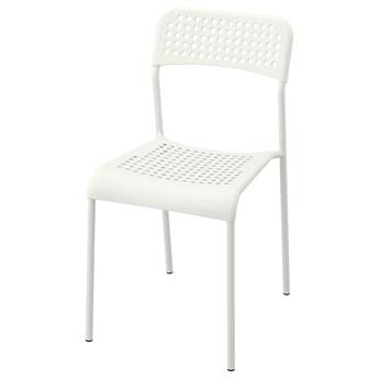 IKEA ADDE Krzesło, Biały, Przetestowano dla: 110 kg