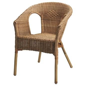 IKEA AGEN Krzesło, rattan/bambus, Szerokość: 58 cm