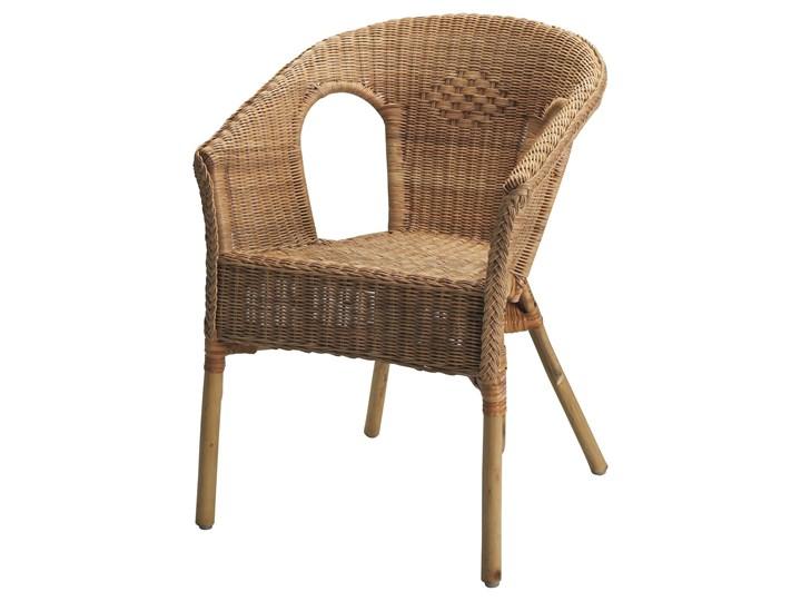 IKEA AGEN Krzesło, rattan/bambus, Szerokość: 58 cm Drewno Tworzywo sztuczne Metal Styl Nowoczesny Kategoria Krzesła ogrodowe