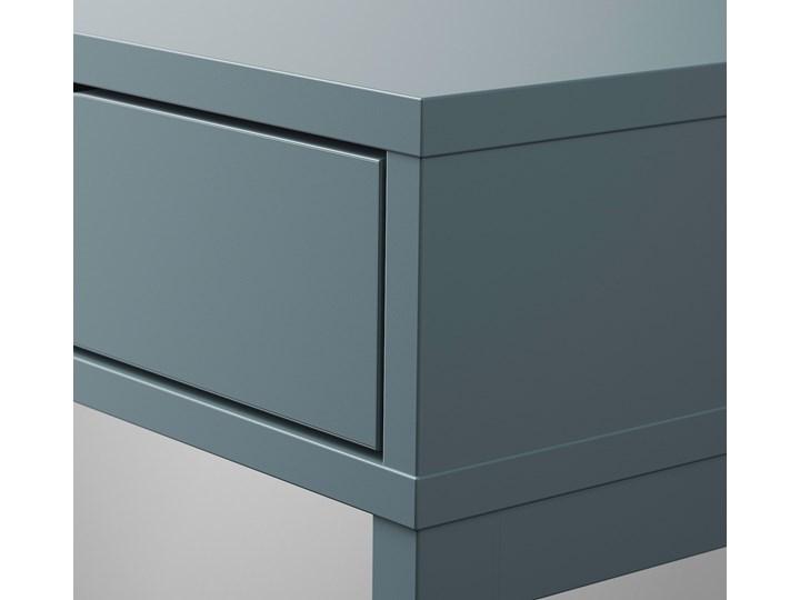 IKEA ALEX Biurko, Szaroturkusowy, 100x48 cm Stal Płyta MDF Szerokość 100 cm Kategoria Biurka