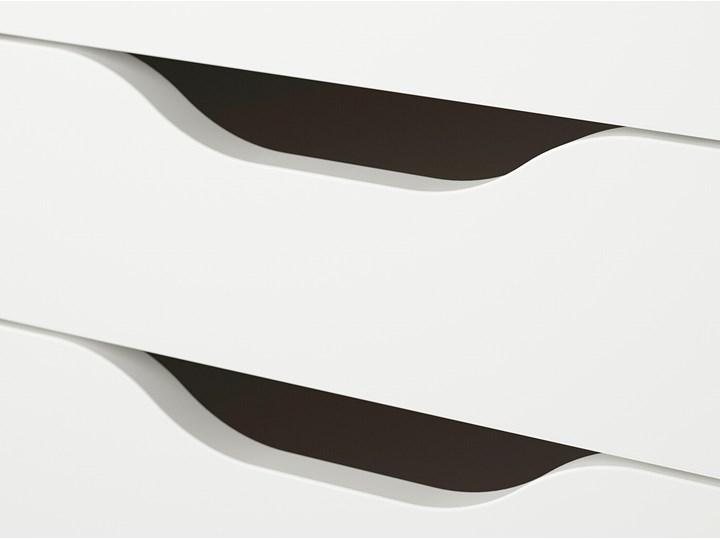 IKEA ALEX Komoda, 9 szuflad, Biały, 36x116 cm Płyta MDF Szerokość 36 cm Kategoria Komody