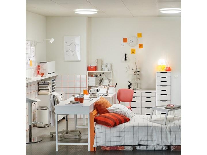 IKEA ALEX Komoda, 9 szuflad, Biały, 36x116 cm Szerokość 36 cm Płyta MDF Kategoria Komody