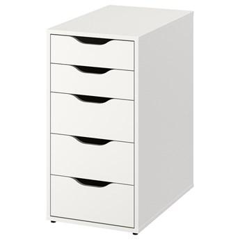 IKEA ALEX Komoda, Biały, 36x70 cm