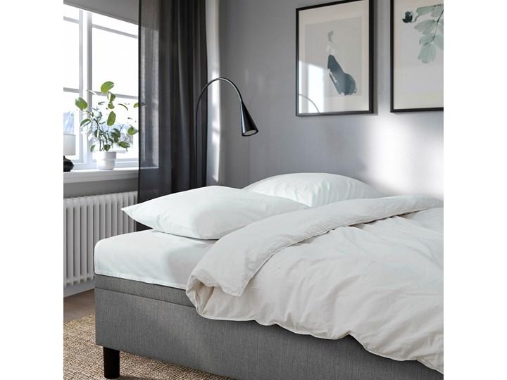 IKEA ANGSTA Rozkładana sofa 3-osobowa, z szezlongiem szary, Wysokość łóżka: 42.5 cm Prawostronne Rozkładanie Rozkładany Materiał obicia Tkanina
