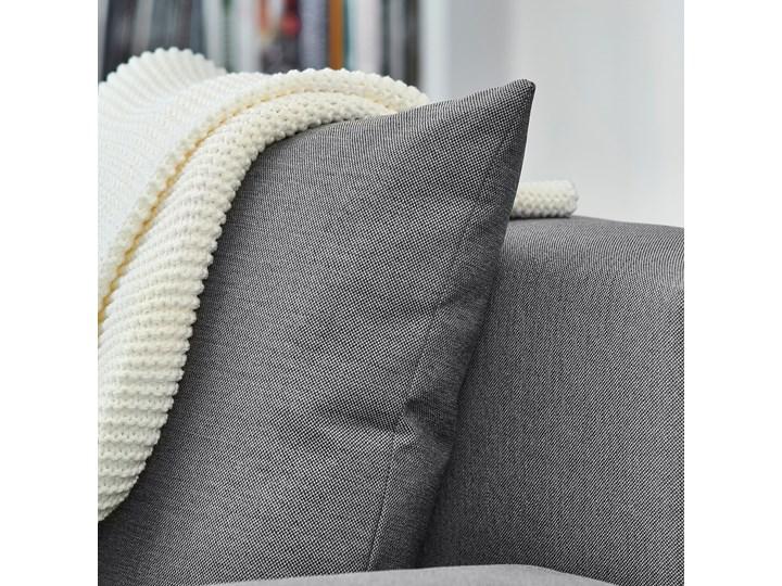 IKEA ANGSTA Rozkładana sofa 3-osobowa, z szezlongiem szary, Wysokość łóżka: 42.5 cm Prawostronne Liczba miejsc Dwuosobowy