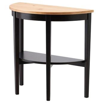 IKEA ARKELSTORP Stolik podokienny, czarny, 80x40x75 cm