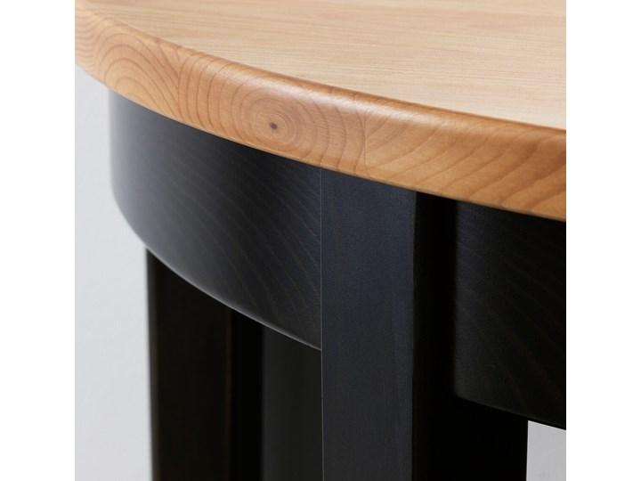 IKEA ARKELSTORP Stolik podokienny, czarny, 80x40x75 cm Drewno Rozmiar blatu 75x80 cm Kategoria Stoliki i ławy