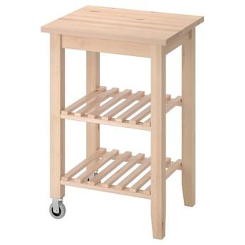 IKEA BEKVÄM Barek kuchenny, brzoza, 58x50 cm