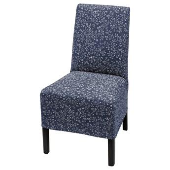 IKEA BERGMUND Pokrowiec na krzesło, śr długość, Ryrane granatowy