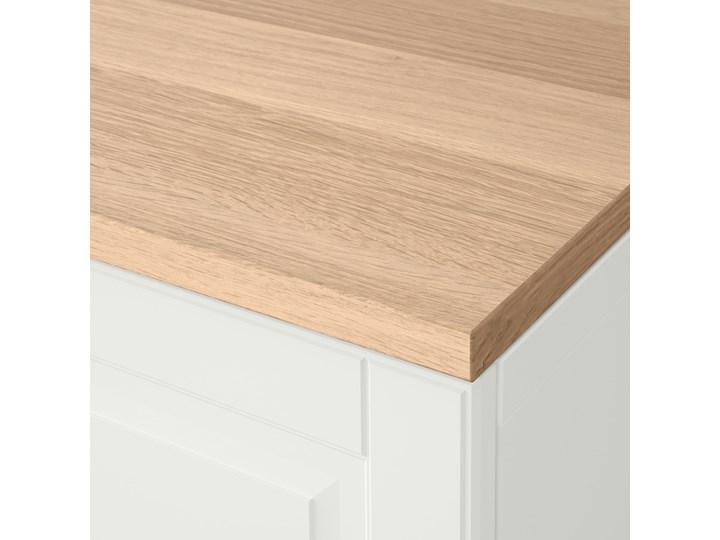 IKEA BESTÅ Kombinacja regałowa z drzw/szuf, Biały/Smeviken/Kabbarp biały, 120x42x76 cm Głębokość 42 cm Szerokość 120 cm Drewno Płyta MDF Kategoria Komody Kolor Beżowy