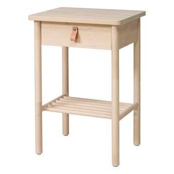IKEA BJÖRKSNÄS Stolik nocny, brzoza, 48x38 cm