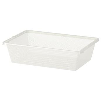 IKEA BOAXEL Kosz druciany, biały, 60x40x15 cm