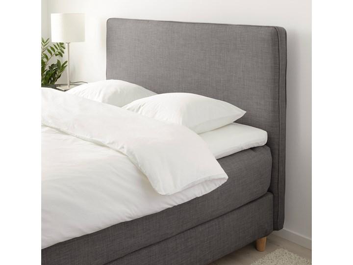 IKEA DUNVIK Łóżko kontynentalne, Vatneström twardy/średnio twardy/Tistedal ciemnoszary, 180x200 cm Kategoria Łóżka do sypialni Łóżko tapicerowane Styl Klasyczny
