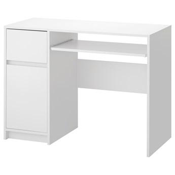 IKEA EJLER Biurko, biały, 100x45 cm