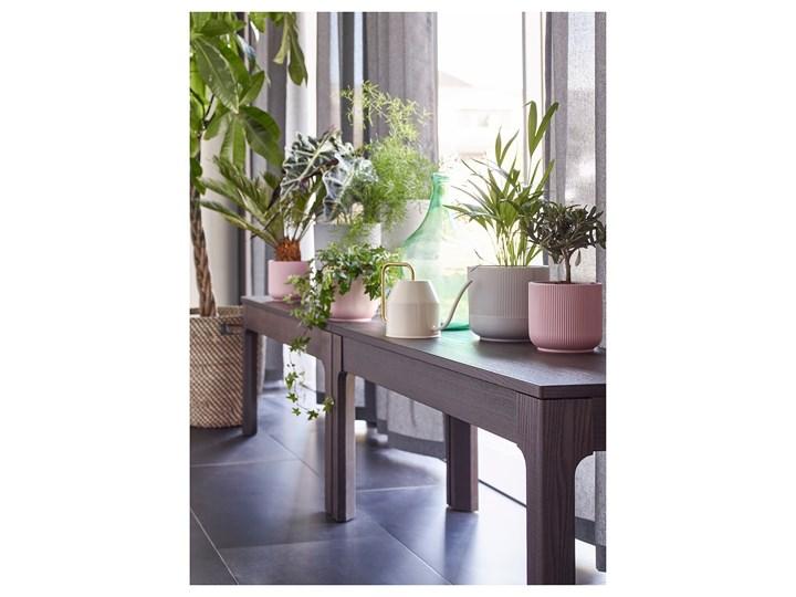 IKEA EKEDALEN Ławka, ciemnobrązowy, 105x36 cm Kategoria Ławki do salonu Kolor Czarny