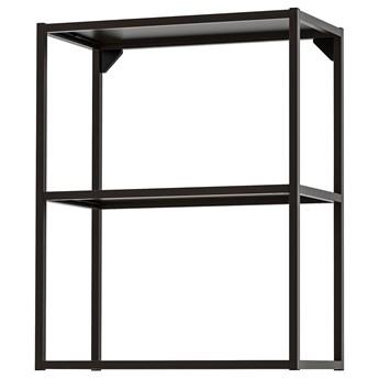 IKEA ENHET Korpus szafki z półkami, Antracyt, 60x30x75 cm