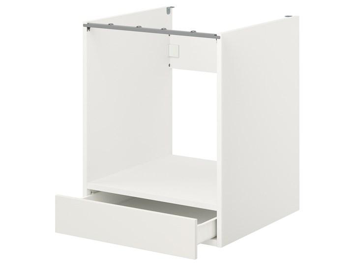 IKEA ENHET Sz stj piek z szu, biały, 60x62x75 cm Szafka dolna Do zabudowy Płyta MDF Kategoria Szafki kuchenne