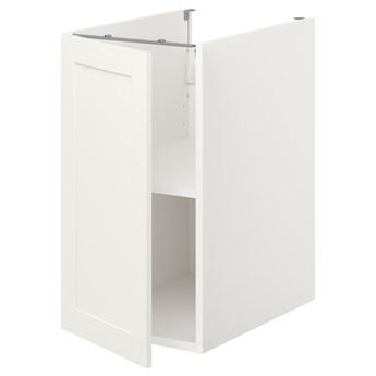 IKEA ENHET Sza st z pół/drzw, biały/biały rama, 40x62x75 cm