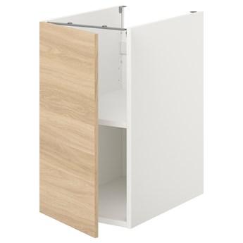 IKEA ENHET Sza st z pół/drzw, biały/imit. dębu, 40x62x75 cm