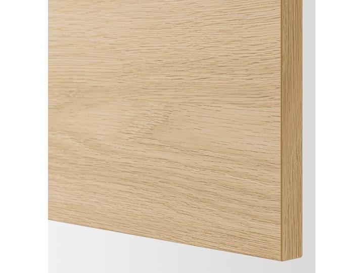 IKEA ENHET Szafka pod zlewozm/drzwi, biały/imit. dębu, 60x62x75 cm Płyta MDF Drewno Kategoria Szafki kuchenne Kolor Beżowy