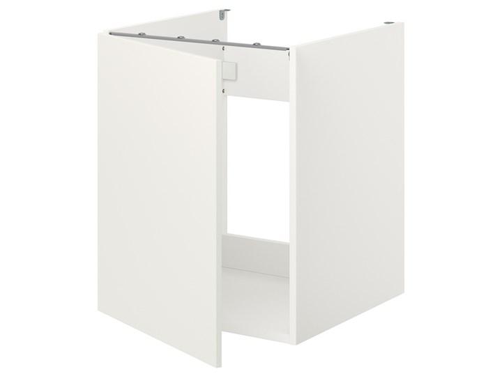 IKEA ENHET Szafka pod zlewozm/drzwi, biały, 60x62x75 cm