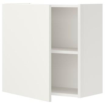 IKEA ENHET Szafka ścienna z 1 półką/drzwiami, biały, 60x32x60 cm