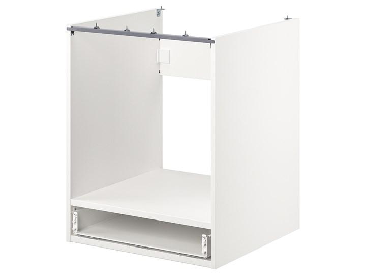 IKEA ENHET Szafka stojąca na piekarnik z szufl, biały, 60x60x75 cm Płyta MDF Do zabudowy Szafka dolna Kategoria Szafki kuchenne