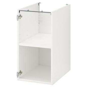 IKEA ENHET Szafka stojąca z półką, biały, 40x60x75 cm