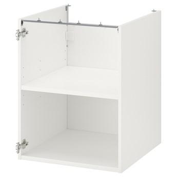 IKEA ENHET Szafka stojąca z półką, biały, 60x60x75 cm