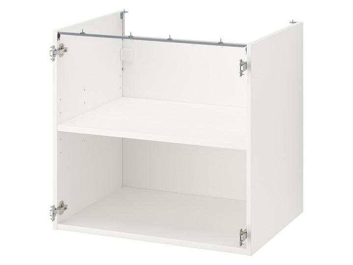 IKEA ENHET Szafka stojąca z półką, biały, 80x60x75 cm Szafka dolna Płyta MDF Kategoria Szafki kuchenne