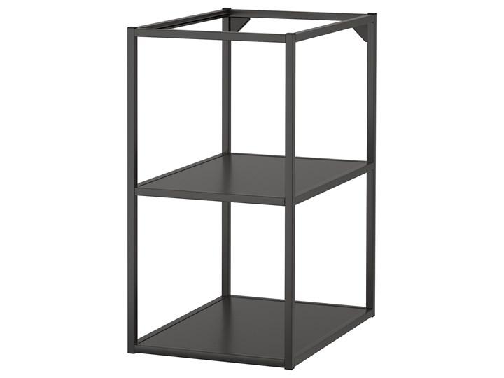 IKEA ENHET Szafka stojąca z półkami, antracyt, 40x60x75 cm