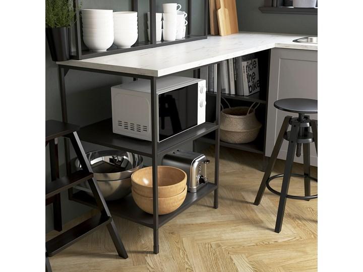 IKEA ENHET Szafka stojąca z półkami, antracyt, 60x60x75 cm Szafka dolna Kategoria Szafki kuchenne