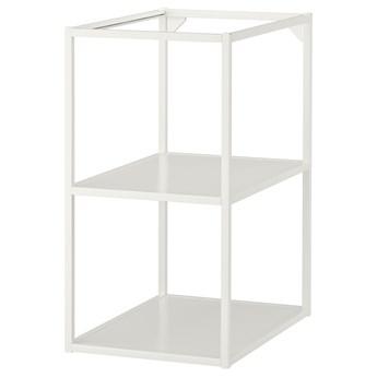 IKEA ENHET Szafka stojąca z półkami, biały, 40x60x75 cm