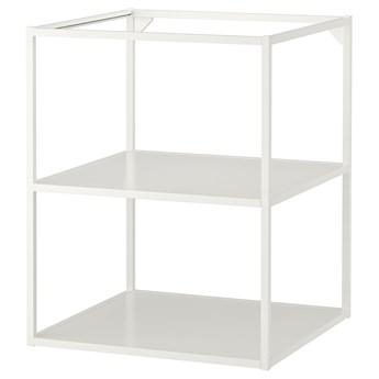 IKEA ENHET Szafka stojąca z półkami, biały, 60x60x75 cm