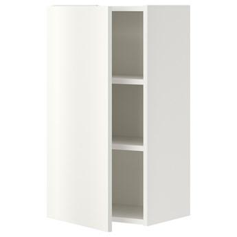 IKEA ENHET Szafka wisząca 2półki/drzwi, biały, 40x32x75 cm