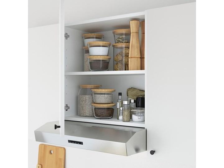 IKEA ENHET Szafka wisząca z w półką, biały, 60x30x60 cm Płyta MDF Kategoria Szafki kuchenne