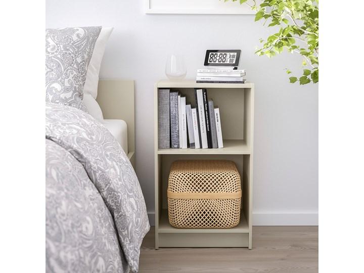 IKEA GURSKEN Zestaw mebli do sypialni 3 szt, jasnobeżowy, Szer. materaca: 140 cm Pomieszczenie Sypialnia