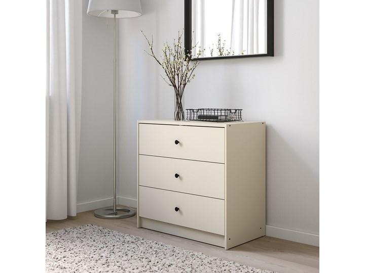 IKEA GURSKEN Zestaw mebli do sypialni 3 szt, jasnobeżowy Pomieszczenie Sypialnia