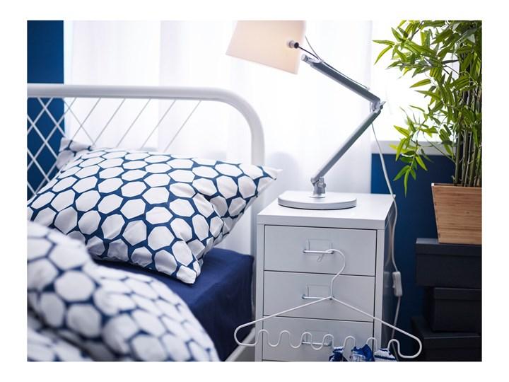 IKEA HELMER Komoda na kółkach, Biały, 28x69 cm Stal Metal Kategoria Szafki i regały