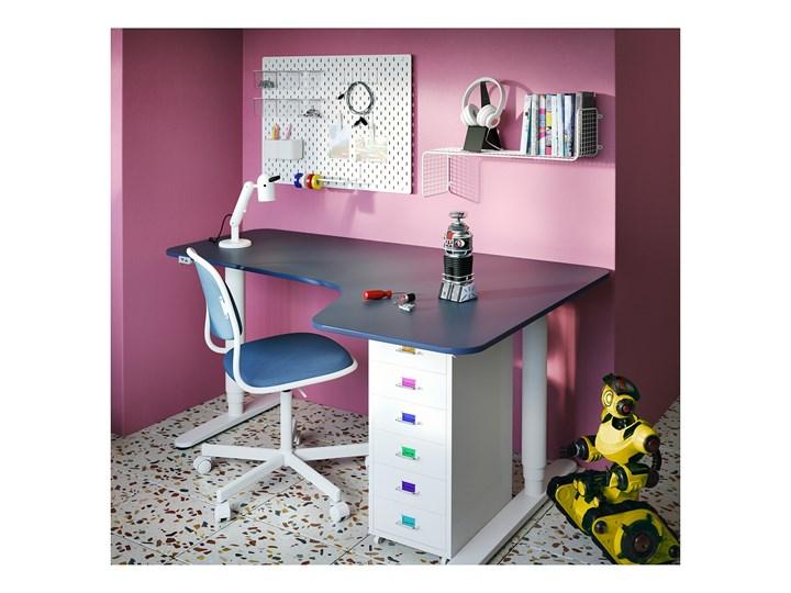 IKEA HELMER Komoda na kółkach, Biały, 28x69 cm Metal Stal Kategoria Szafki i regały