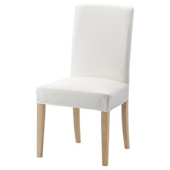 IKEA HENRIKSDAL Pokrycie krzesła, Gräsbo biały