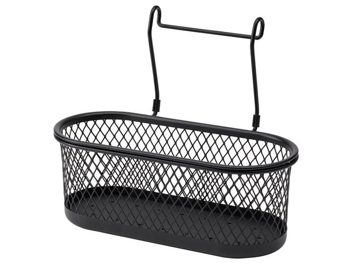 IKEA HULTARP Pojemnik, Czarny/siatka, 31x16 cm Stal Kategoria Pojemniki i puszki