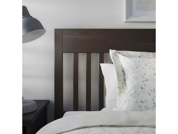 IKEA IDANÄS Rama łóżka, Ciemnobrązowy bejcowane, 160x200 cm Łóżko drewniane Kategoria Łóżka do sypialni Styl Klasyczny