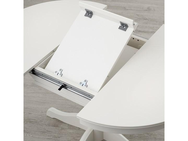 IKEA INGATORP Stół rozkładany, biały, 90/125 cm Długość 90 cm  Drewno Płyta MDF Stal Wysokość 74 cm Szerokość 90 cm Kategoria Stoły kuchenne Tworzywo sztuczne Rozkładanie Rozkładane