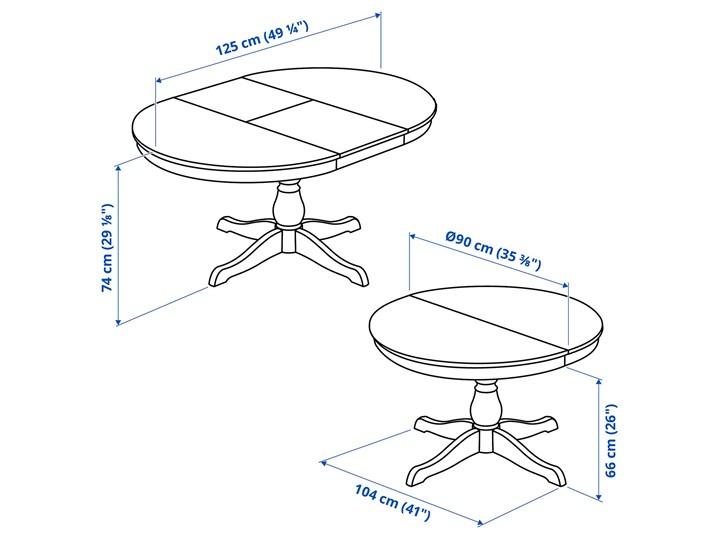 IKEA INGATORP Stół rozkładany, biały, 90/125 cm Tworzywo sztuczne Drewno Szerokość 90 cm Wysokość 74 cm Stal Płyta MDF Długość 90 cm  Kategoria Stoły kuchenne Rozkładanie Rozkładane